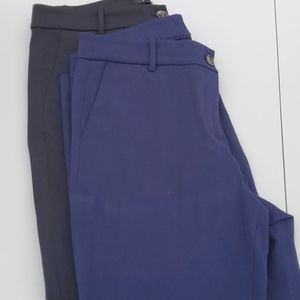 2 Pairs of J. Crew Work Slacks